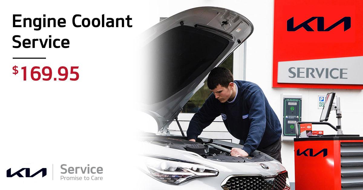 Kia Engine Coolant Service Special Coupon