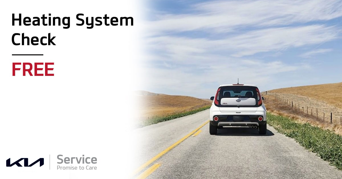 Kia Heating System Check Service Special Coupon