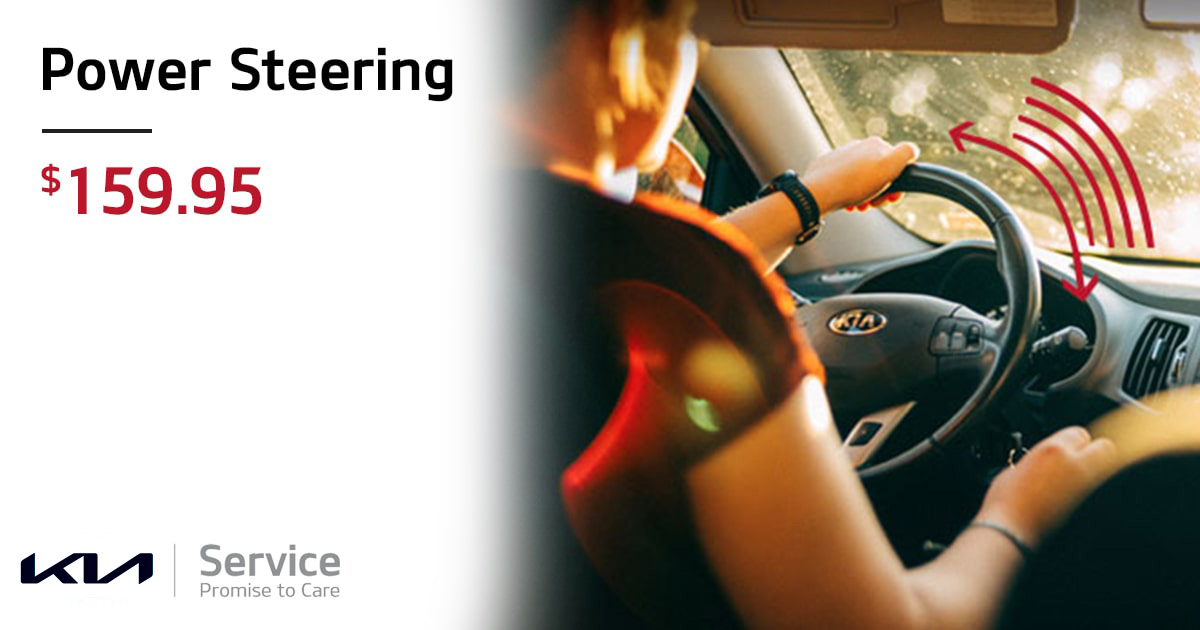Kia Power Steering Service Special Coupon