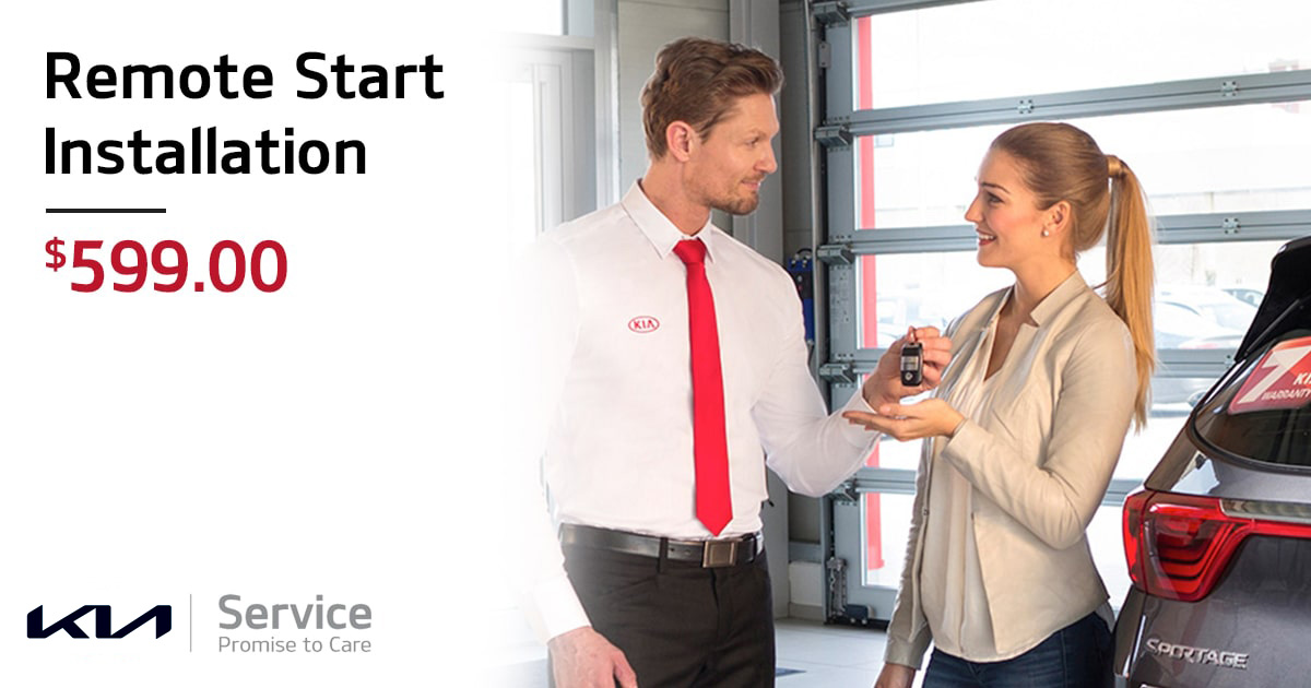Kia Remote Start Installation Service Special Coupon
