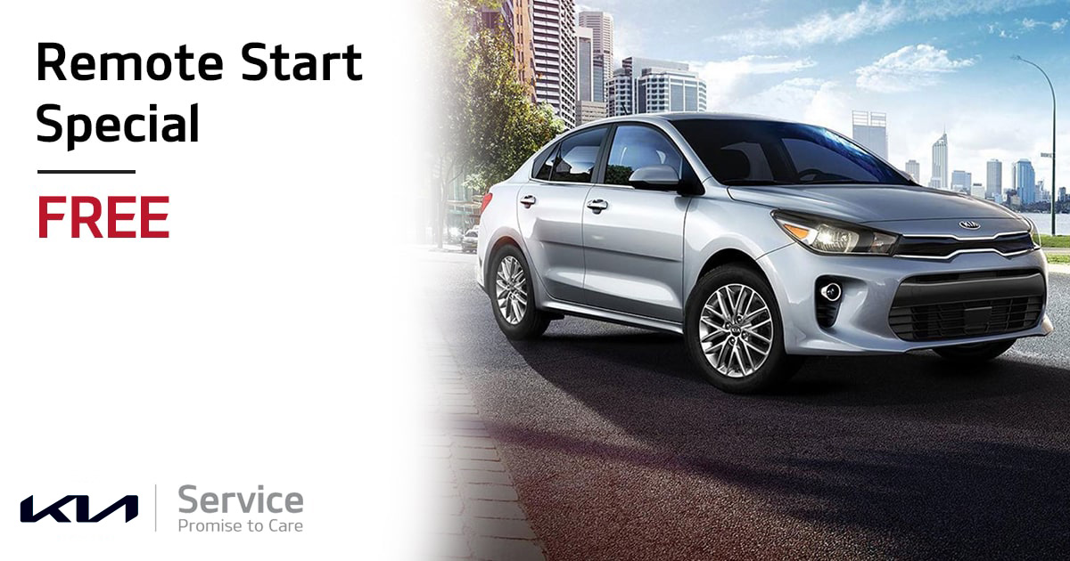Kia Remote Start Special Service Special Coupon