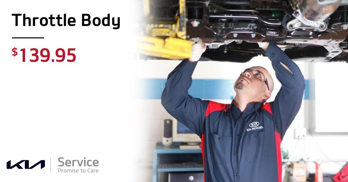 Kia Throttle Body Service Special Coupon