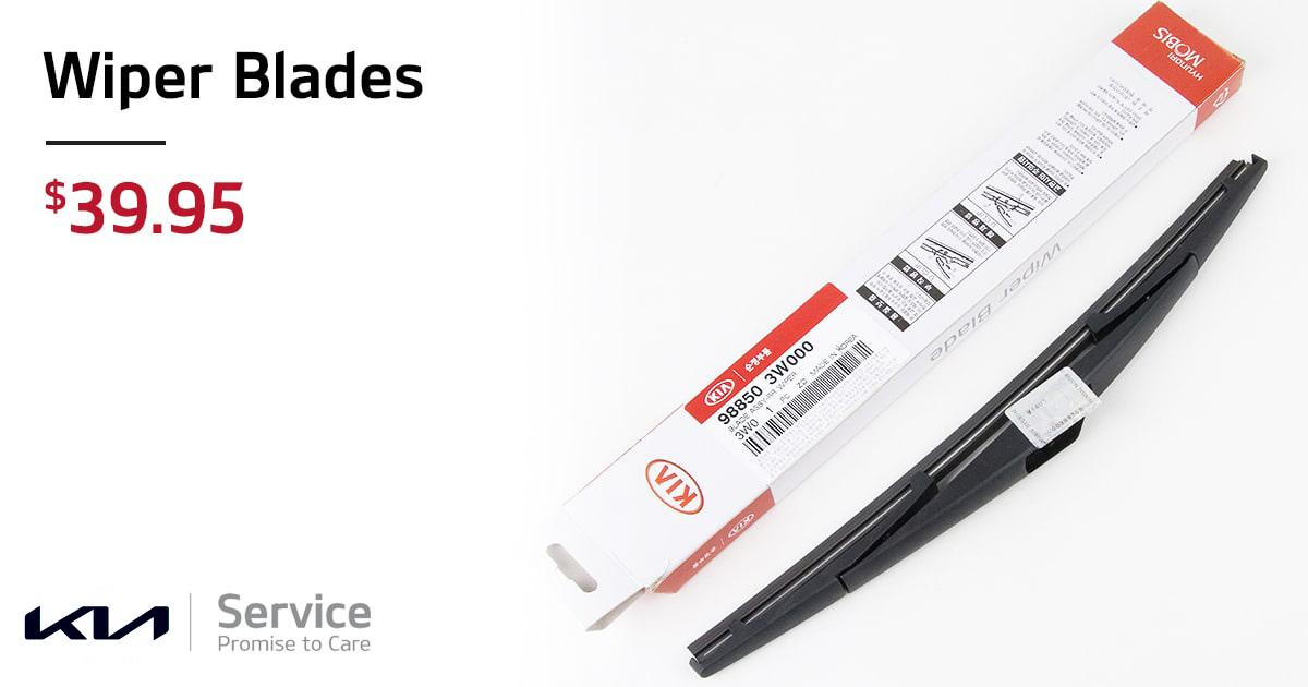 Kia Wiper Blades Service Special Coupon