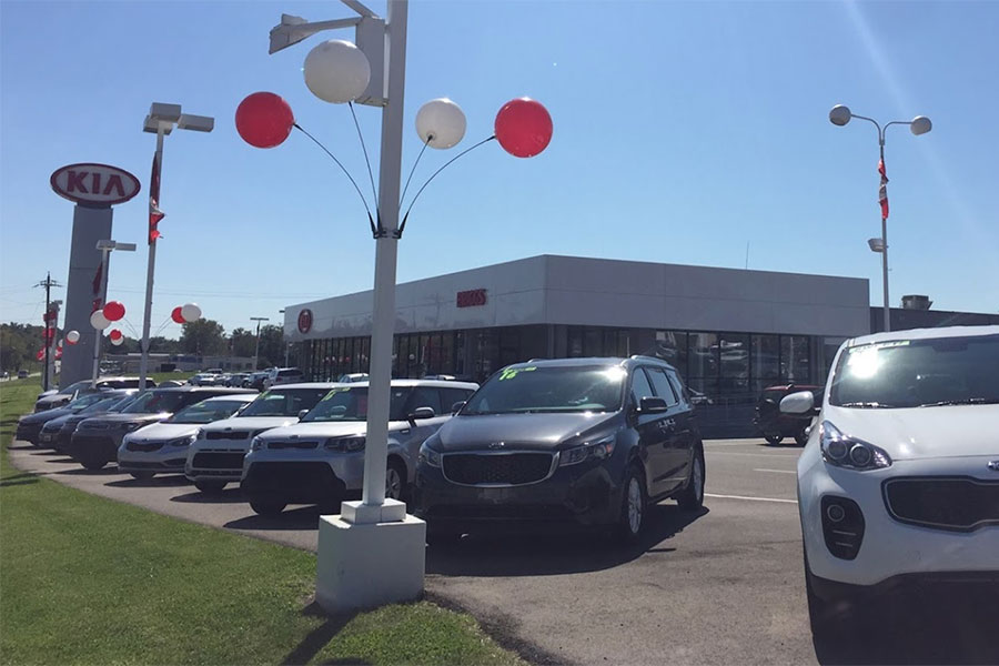 Briggs Kia Amenities