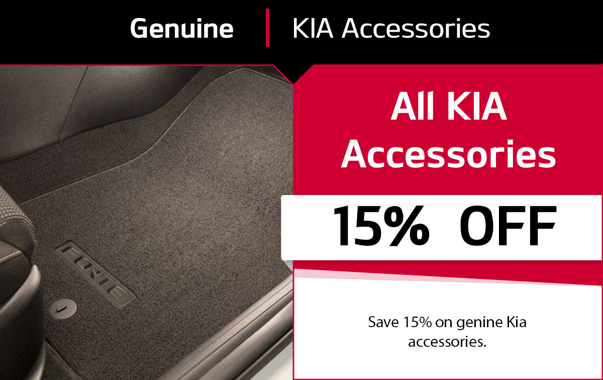 Genuine KIA Accessories Special Coupon