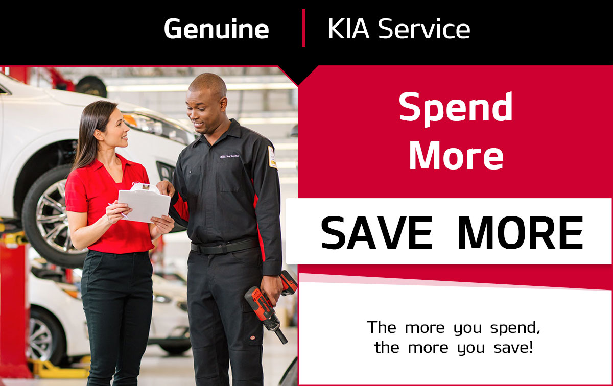 KIA Spend More, Save More Service Special Coupon