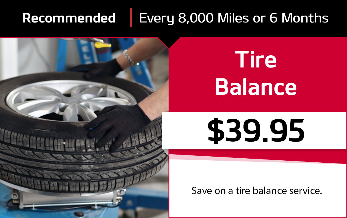 Tire Balance Service Special Coupon