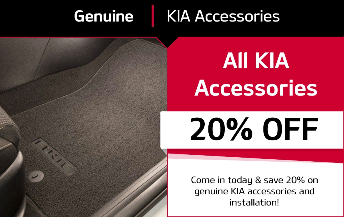 Genuine KIA Accessories Service Special Coupon