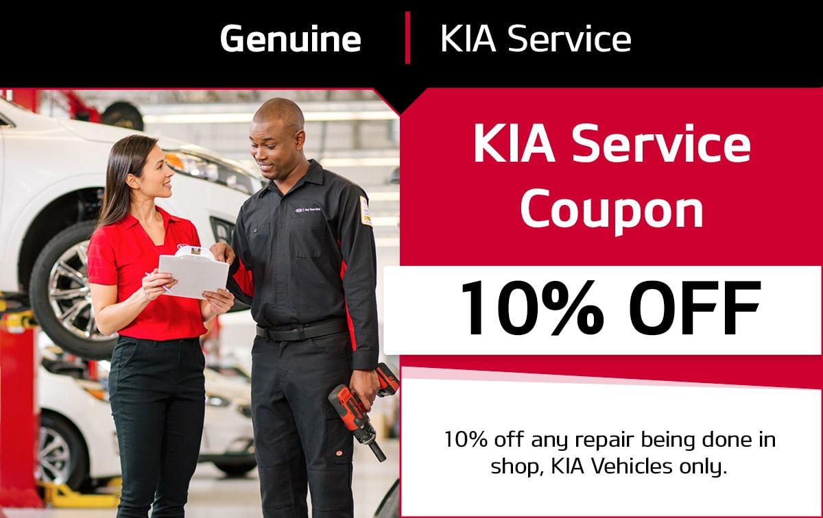 KIA Service Special Coupon