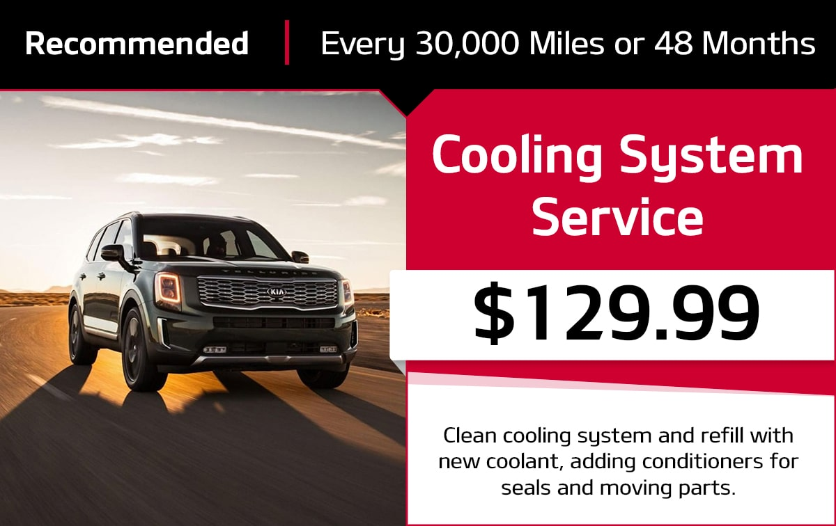 KIA Cooling System Special Coupon