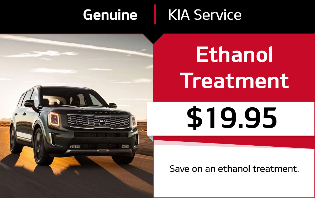 Kia Ethanol Treatment Service Special Coupon