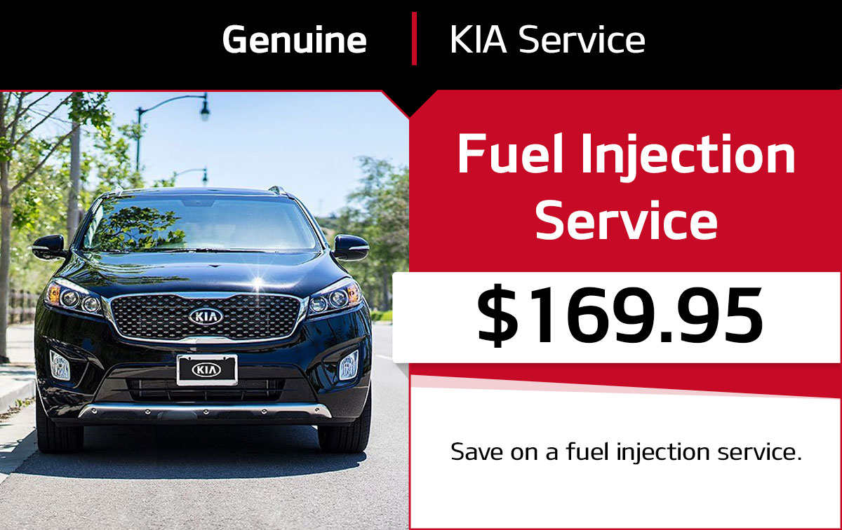 Kia Fuel Injection Service Special Coupon
