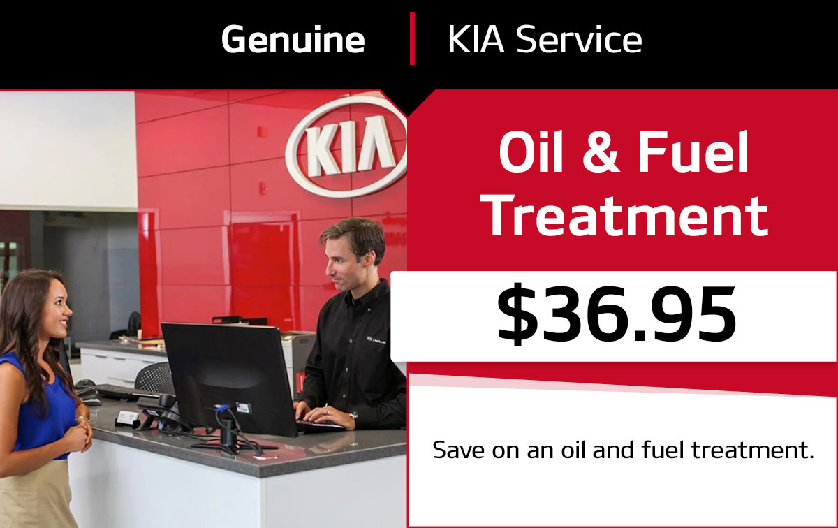 Kia Oil & Fuel Treatment Service Special Coupon