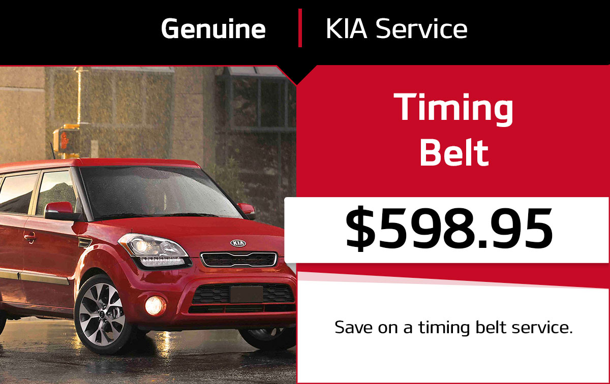 Kia Timing Belt Service Special Coupon