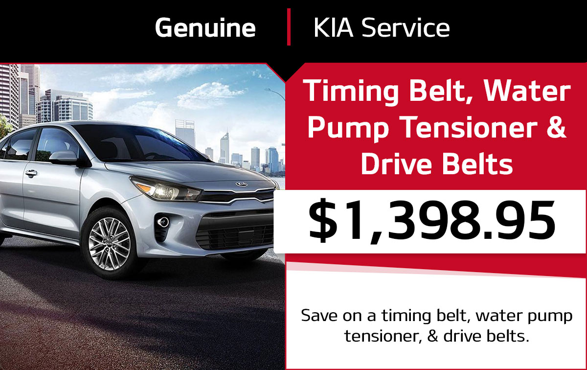 Kia Timing Belt Plus Service Special Coupon