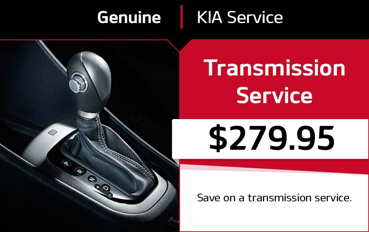 Kia Transmission Service Special Coupon