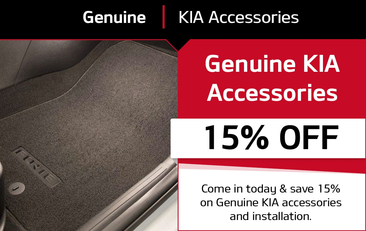 Genuine Kia Accessories Service Special Coupon