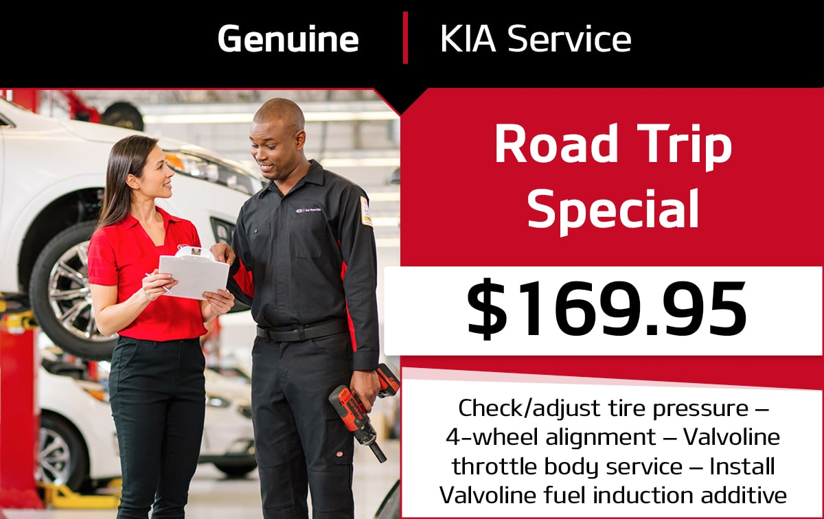 Kia Road Trip Service Special Coupon