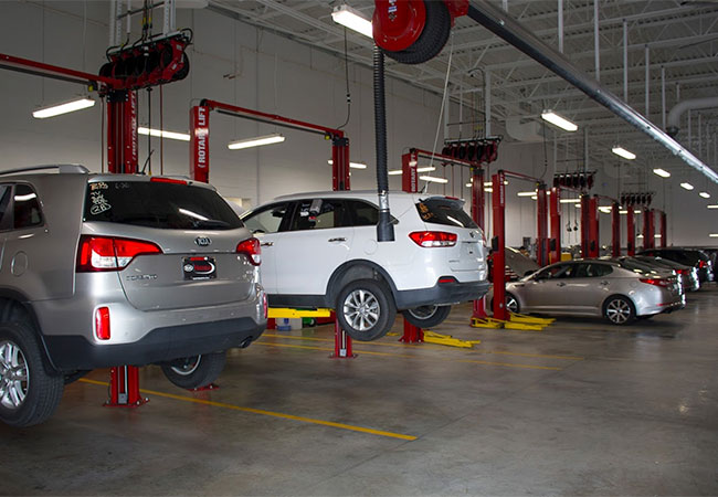Germain Kia Service Department