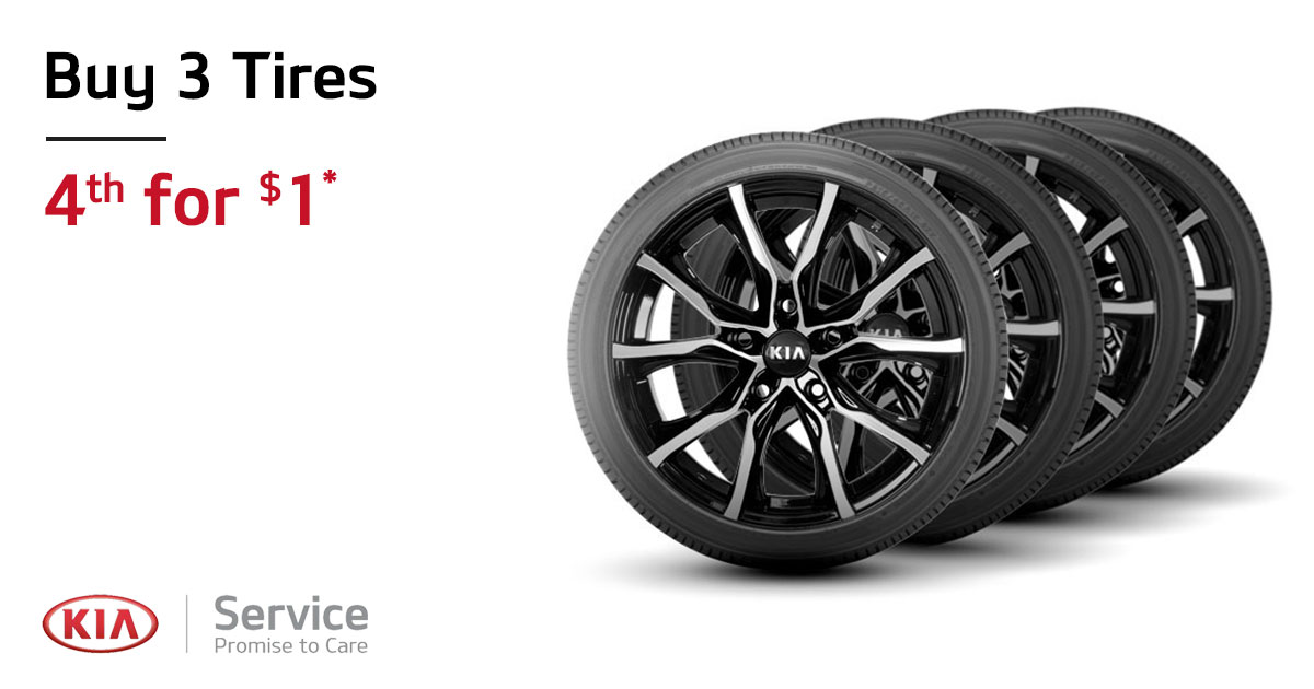 Kia Tire Special Coupon
