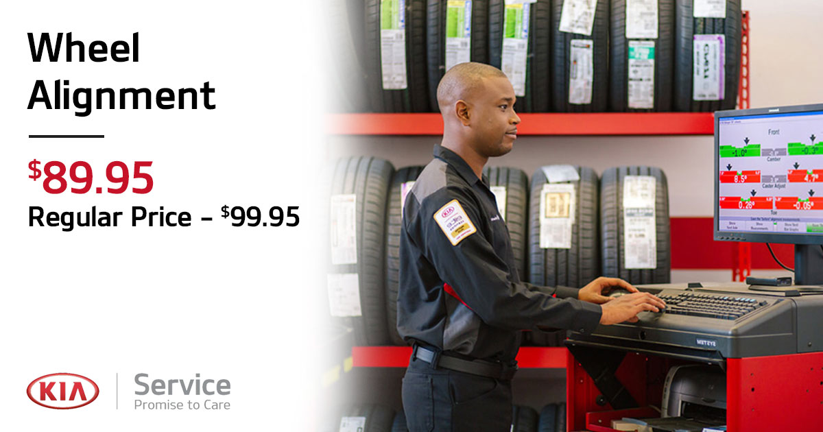 Kia Wheel Alignment Service Special Coupon