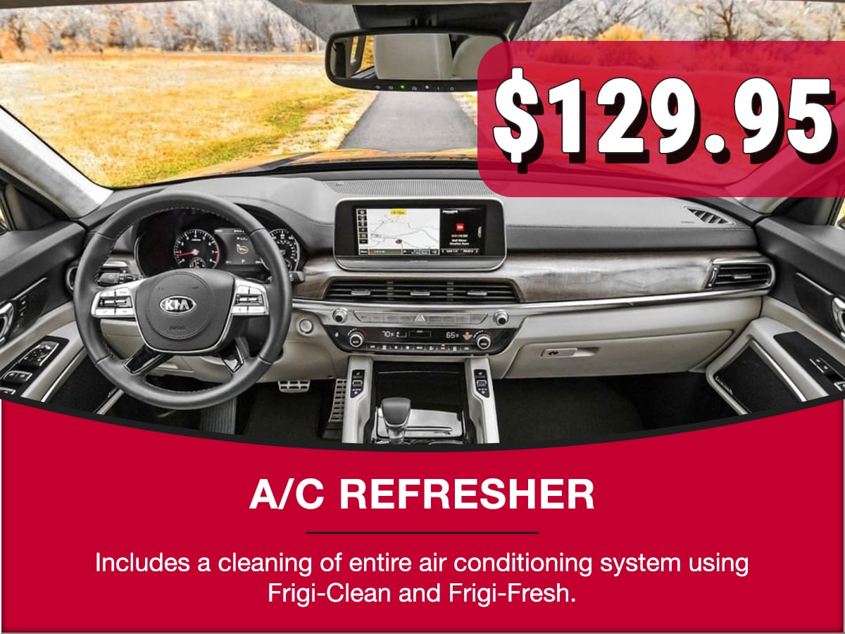 A/C Recharge Service Special Coupon