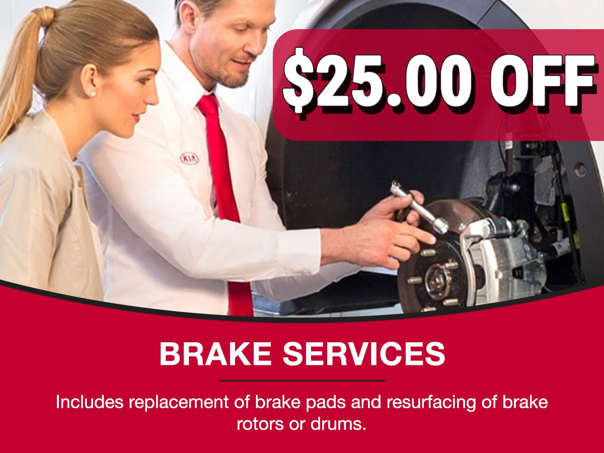 Kia Brake Services Special Coupon