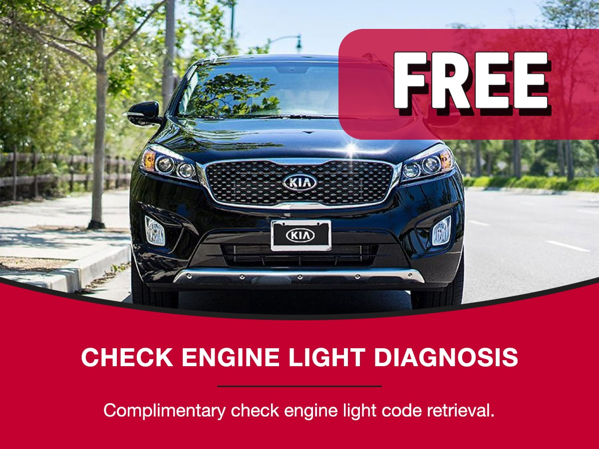 Check Engine Light Diagnosis Service Special Coupon