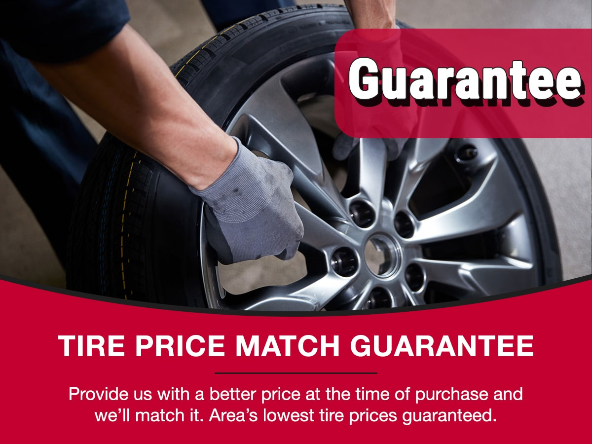 Tire Price Match Service Special Coupon