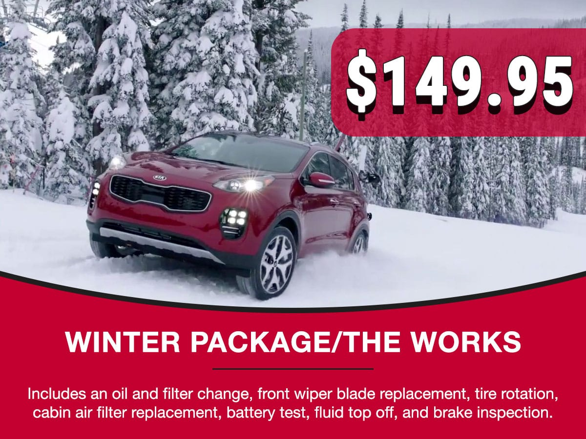 Winter Package Service Special Coupon