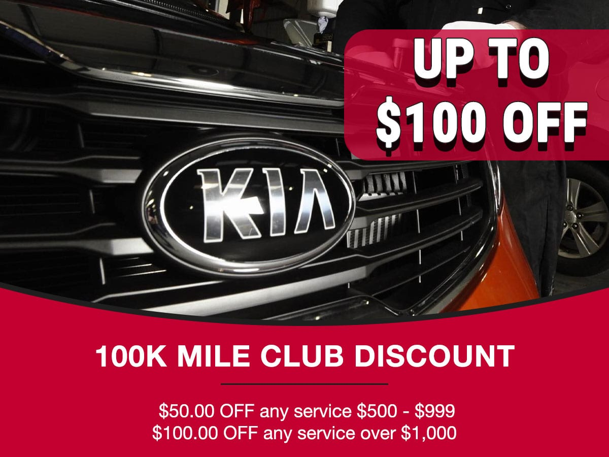 100K Mile Club Discount Coupon