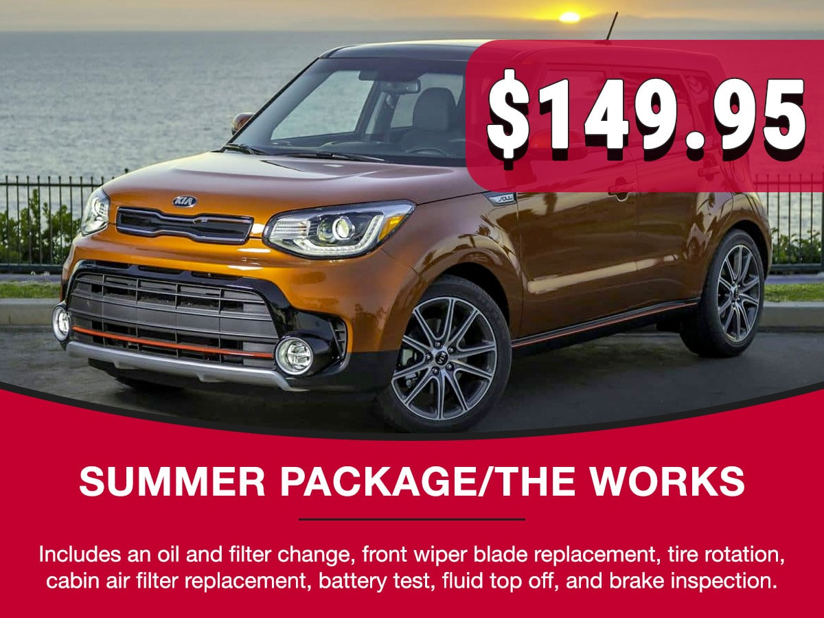 Summer Package Service Special Coupon