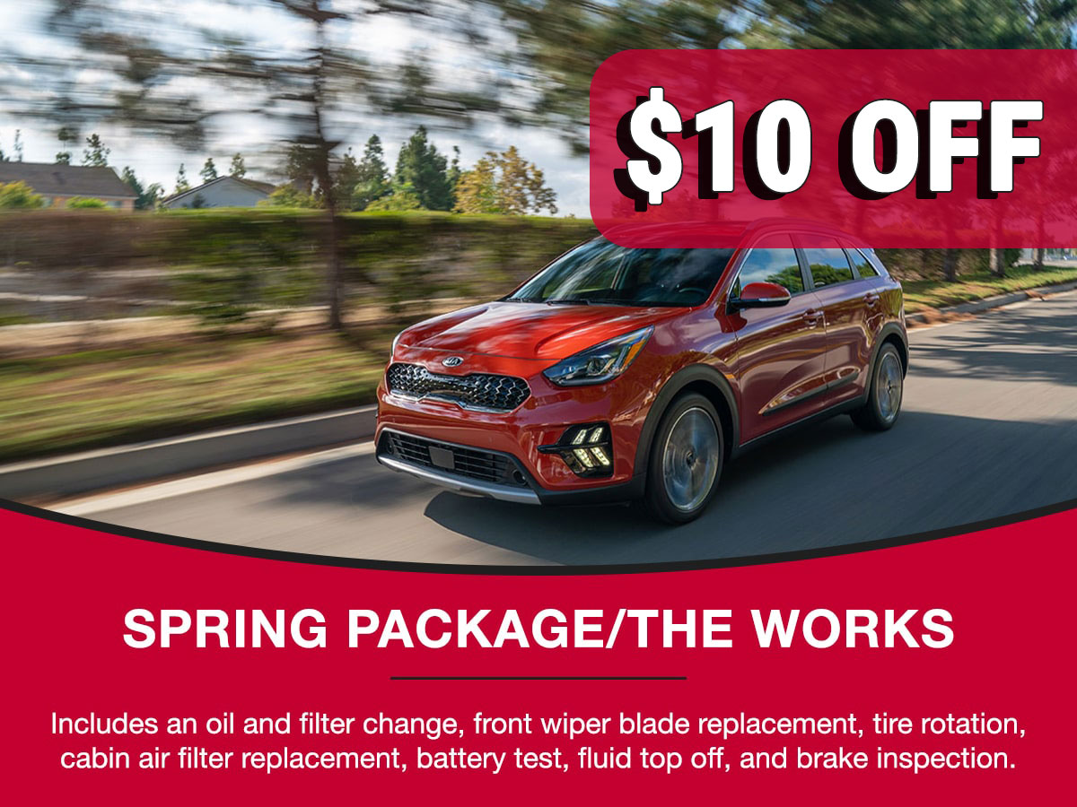 Kia Spring Package Service Special Coupon