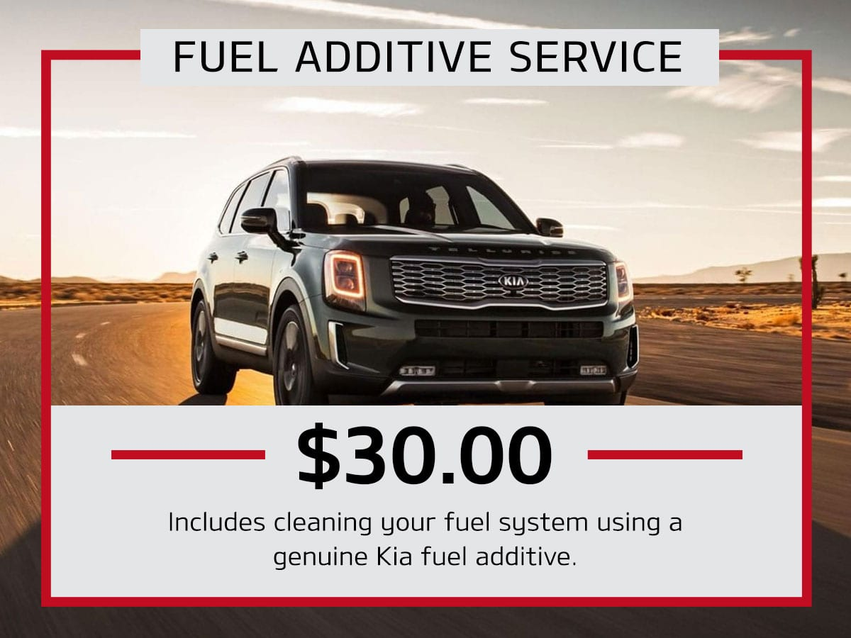 Fuel Additive Service Special Coupon