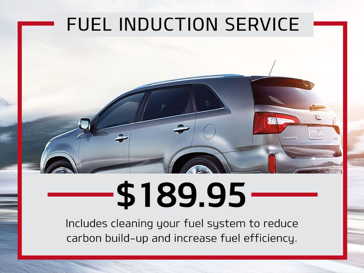 Fuel Induction Service Special Coupon