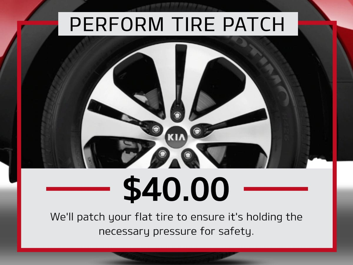 Tire Patch Service Special Coupon