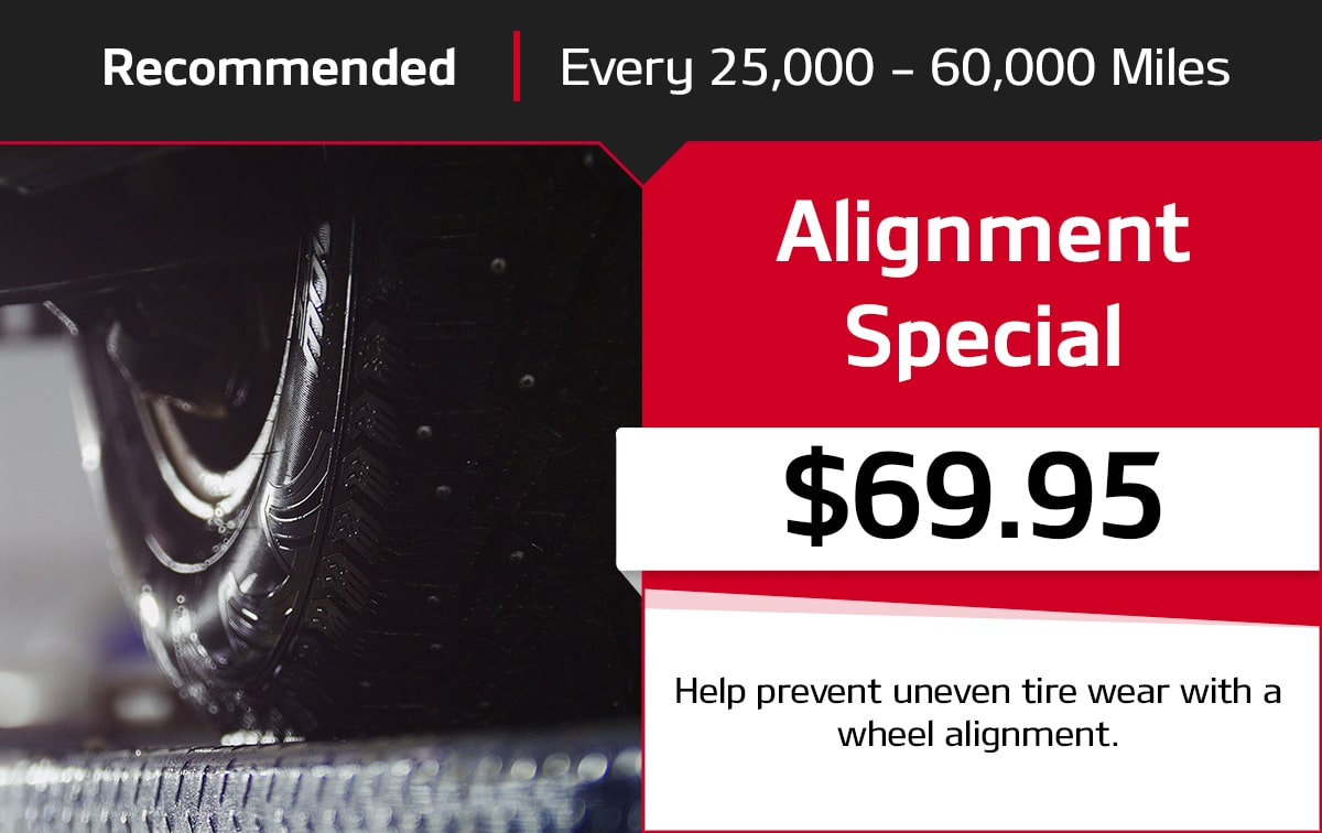 Kia Alignment Special Service Special Coupon