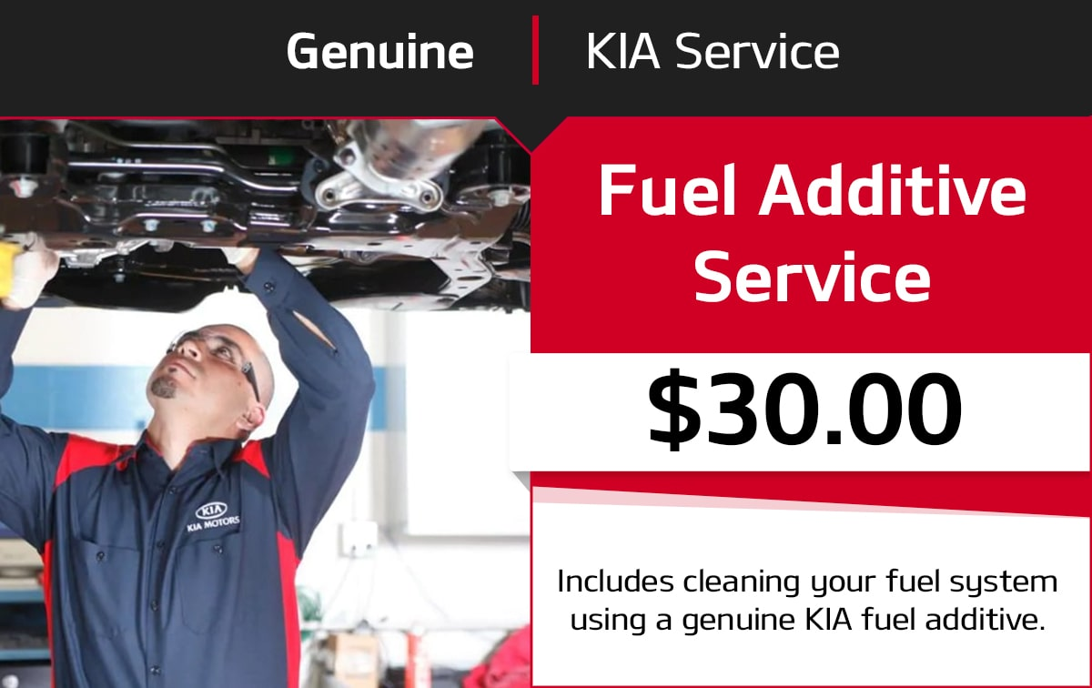 Kia Fuel Additive Service Special Coupon