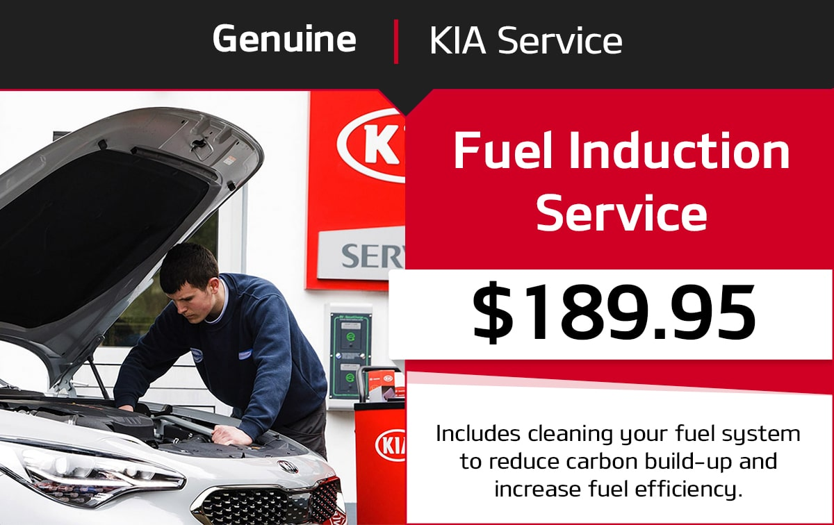 Kia Fuel Induction Service Special Coupon