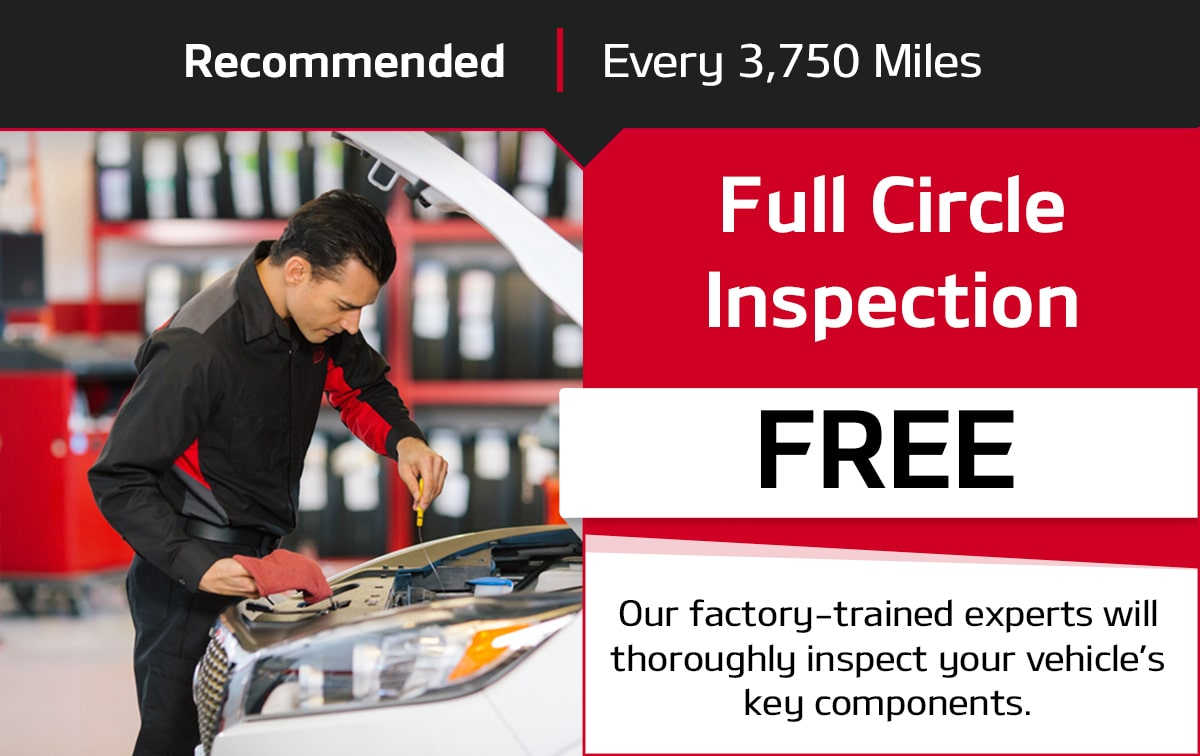 Kia Full Circle Inspection Service Special Coupon