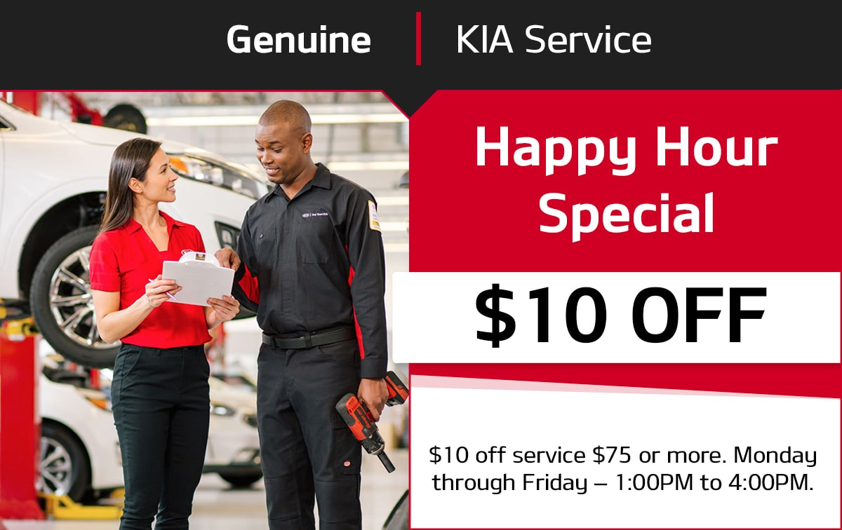 Kia Happy Hour Special Service Special Coupon