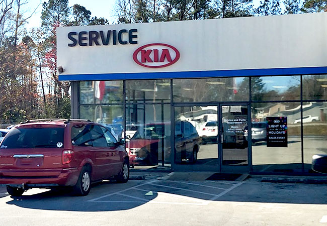 Kia of New Bern Service Department
