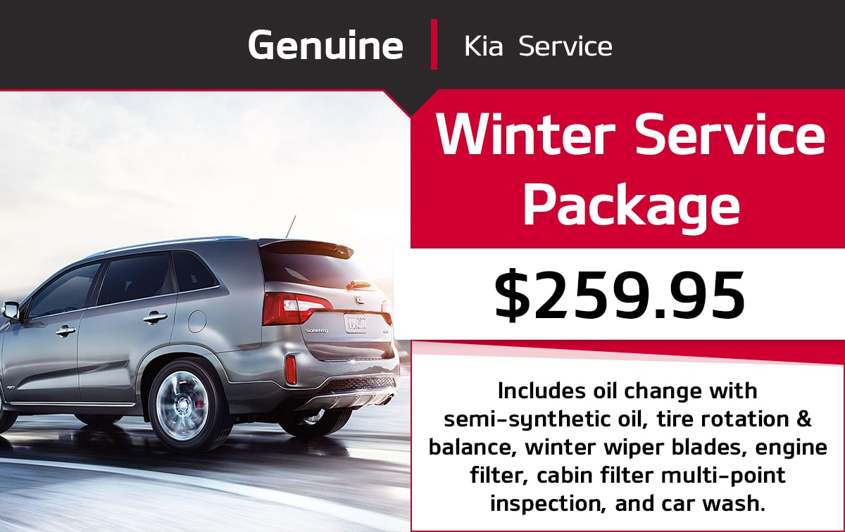 Kia Winter Service Package Special Coupon