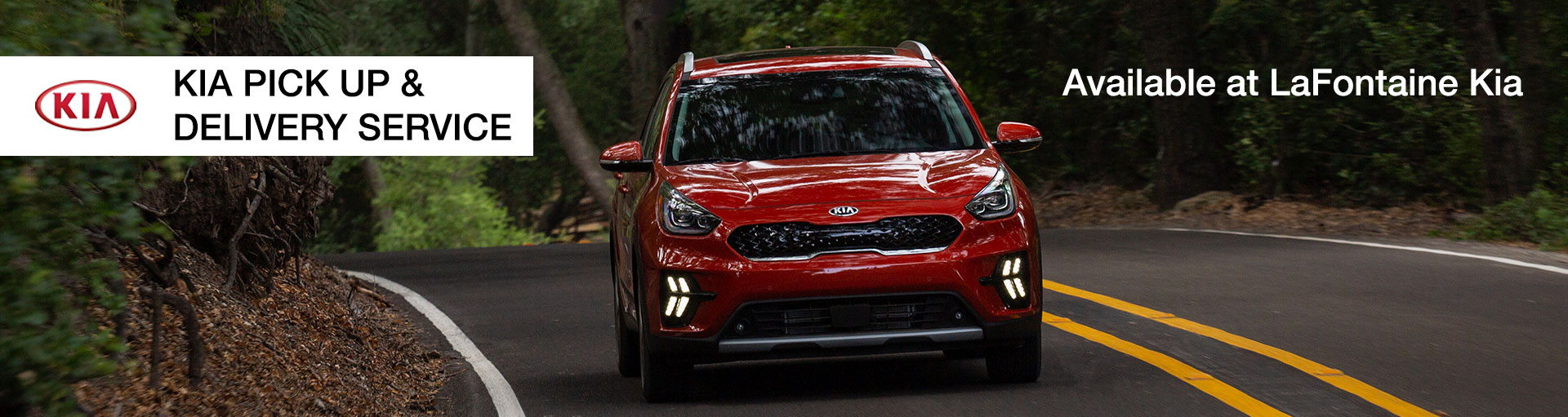Kia Vehicle Pick Up & Delivery