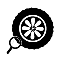 Tire Inspection Icon