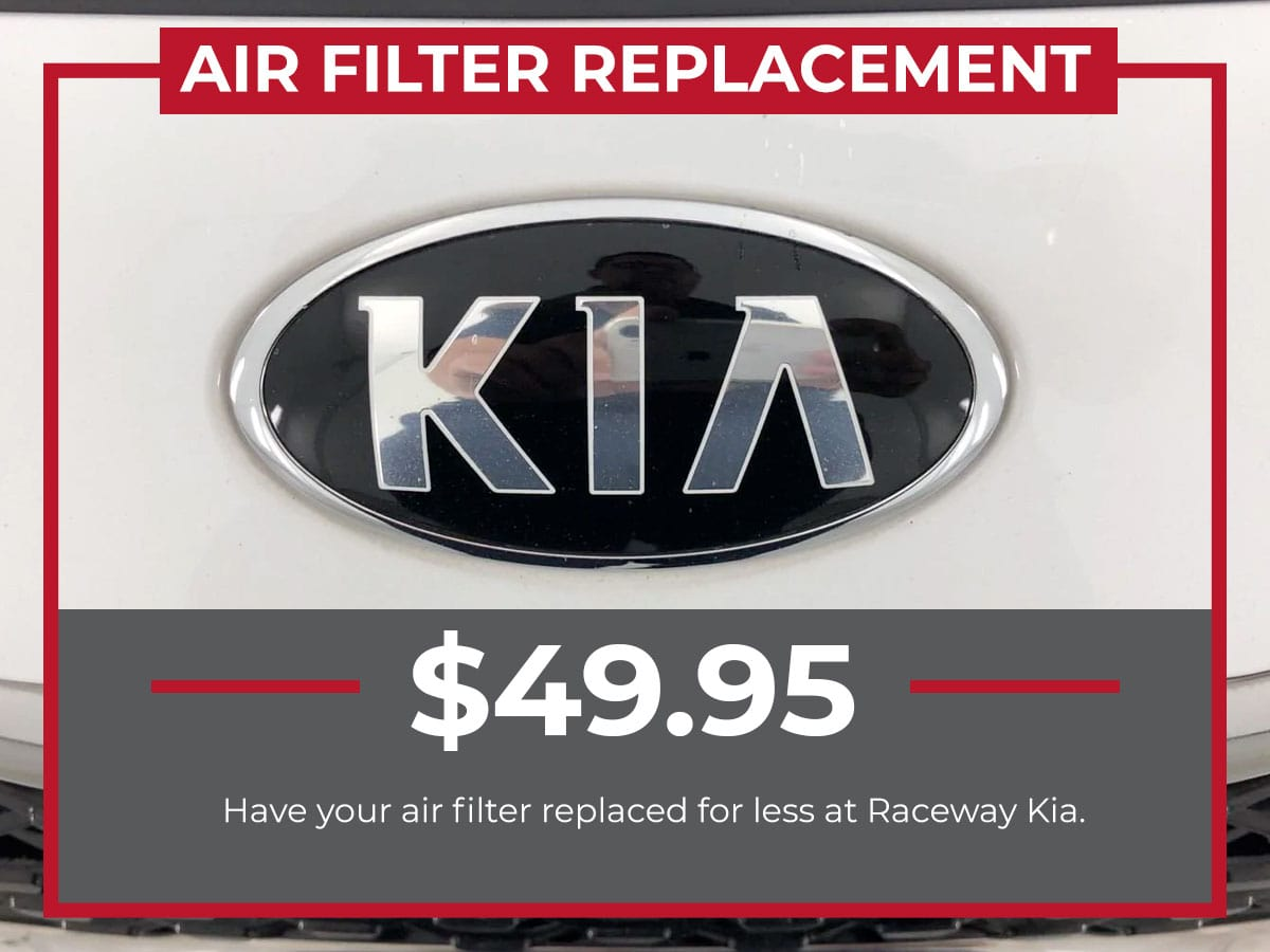 Kia Air Filter Replacement Service Special Coupons