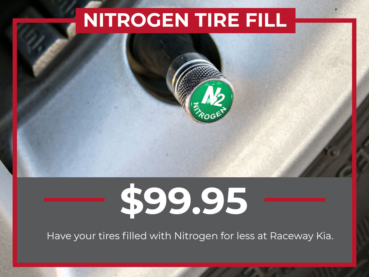Kia Nitrogen Tire Fill Service Special Coupon