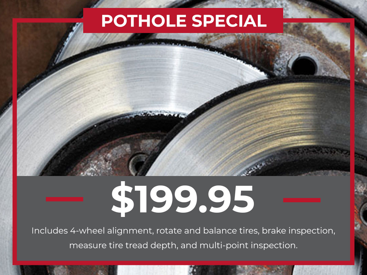 Kia Pothole Service Special Coupons