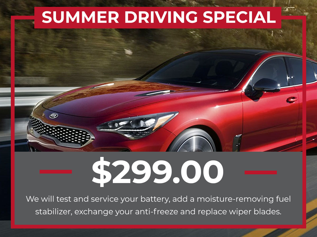 Raceway Kia Summer Driving Special Service Freehold, NJ