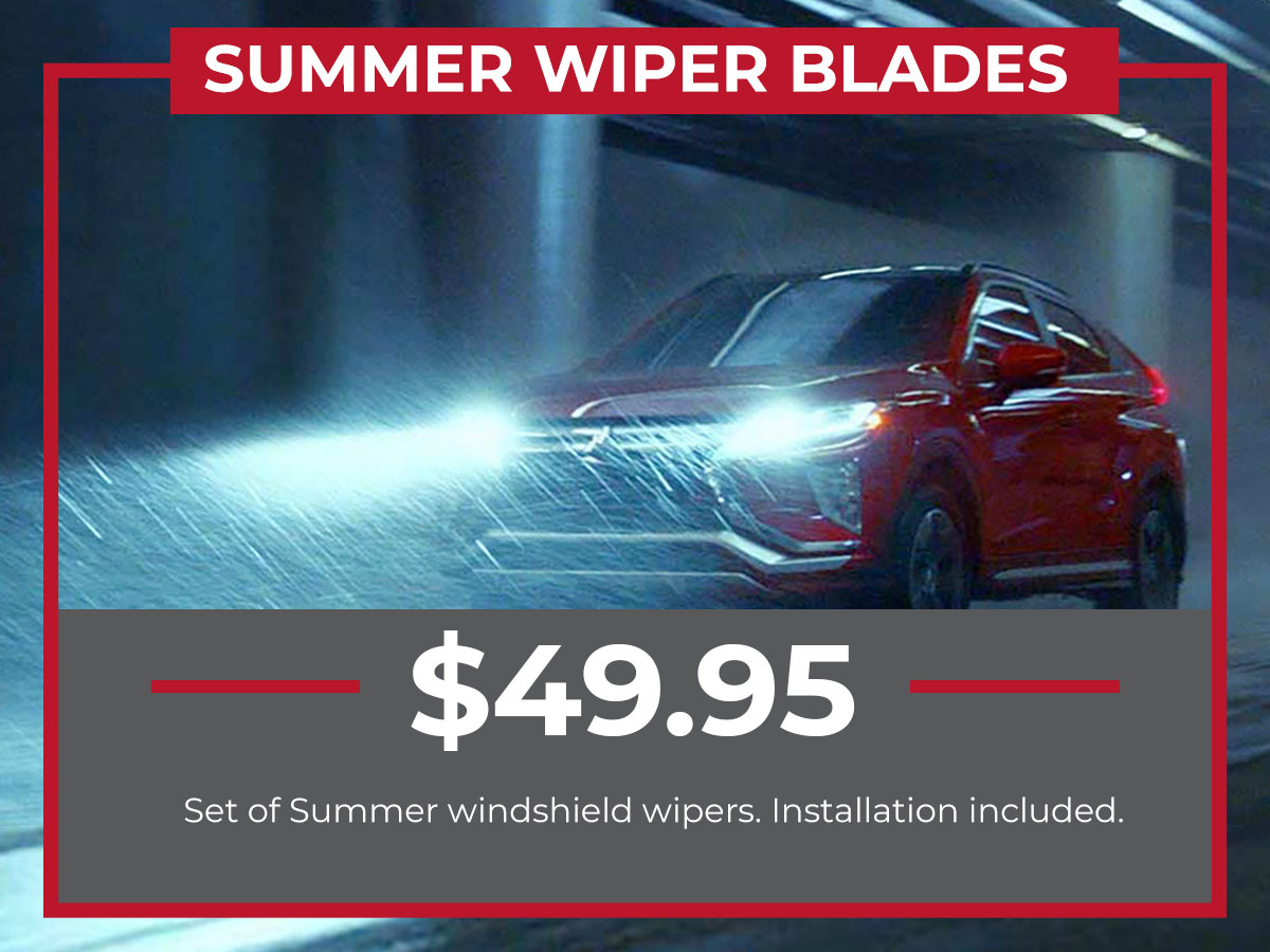 Kia Summer Windshield Wiper Service Special Coupon